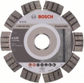 Алмазный диск Best for Concrete 125x22,23x2,2x12 mm [2608602652]