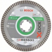 Алмазный диск Best for Ceramic Extraclean Turbo X-LOCK 125x22,23x1,4x7 [2608615132]